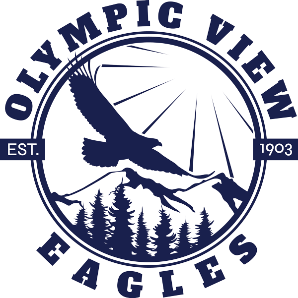 Olympic View Eagles logo